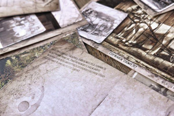 zestaw pocztówek Cichy memoriał